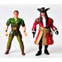 Muñeco Figura Lote Peter Pan Capitán Garfio Película Hook