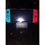 Nintendo Switch Con Accesorios Y Juegos ( Sin Dock Tv)