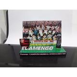 Flamengo Campeão Mundial 1981 - Mini Poster 3d