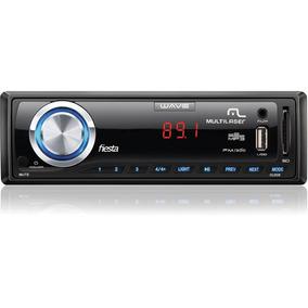 Radio Automotivo Wave Fiesta Fm/mp3/pen Drive/c Un.