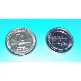 Cv Combo 2 Moneda Conmemorativa Alba Y 70 Años Bcv 2010 Unc