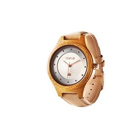 Tempus - Callista - Reloj De Madera Mujer Bambú Carcasa Made