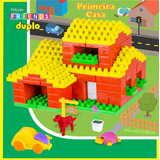 Primeira Casa - Brinquedos Pedagógico - Blocos De Montar