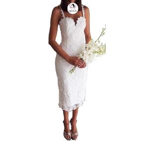 Vestido De Novia Moda Coreana Para Boda Civil Mod.r026