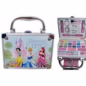 Maleta De Maquiagem Infantil Das Princesas