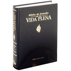 Biblia De Estudio Vida Plena Tapa Dura Reina Valera 1960