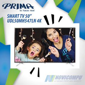 Smart Tv Prima 50 Pulgadas Udl50mh547ln 4k, Wifi, Usb, Hdmi