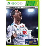 Fifa 18 Standard Edition Xbox 360 Videojuego
