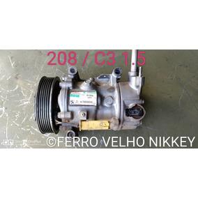 Compressor Pegeout 208 Citroen C3 1.5 8v Original