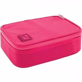 Estojo Box C/ Zíper Academie Cereja (pink) Tilibra