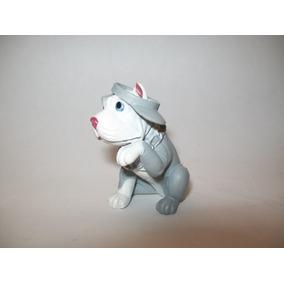 Perrito Pit Bull Con Gorra Y Collar De Cadena Hood Pups