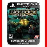 Bioshock Ps3 :: Digital : Ni Dioses Ni Reyes, Solo El Hombre