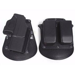 Fobus Funda Tactica Pistola Glock Y Porta Cargador Doble