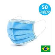 Kit Caixa C/ 50 Mascaras Respiratórias Descartáveis