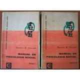 L5285. Manual De Psicología Social (2 Vol) Newcomb, Eudeba