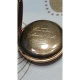 Reloj De Bolsillo Oro Antiguo Numero Serie 67794 10 Rubis