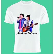 Camiseta Personalizada - Matheus E Kauan