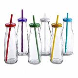 Botella Frasco Con Sorbete Tapa Souvenir Vidrio Candy Bar