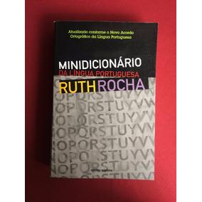 Livro - Minidicionário Da Língua Portuguesa - Ruth Rocha