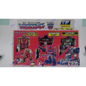 Transformers Jr G1 Optimus Prime Fortress Maximus Chromedome