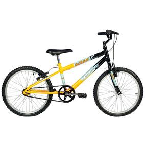 Bicicleta Ocean - Aro 20 - Preto E Amarelo - Verden Bikes