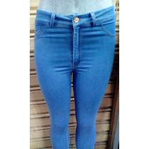 Damas Sexys Pantalones De La S A La L... Blue Jeans