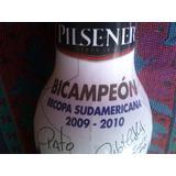 Botella Conmemorativa Bicampeón Sudamericana Liga De Quito