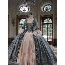 Vestido Festa Casamento Debutante Madrinha Epoca Gregoriano