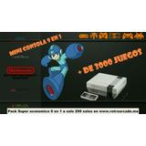 Mini Consola 9 En 1 Multijuegos Retro Super Nintendo, Atari