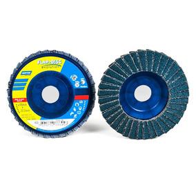 Disco Abrasivo Flap R822 Grano 40/ 4 1/2 Pulg/norton/r822