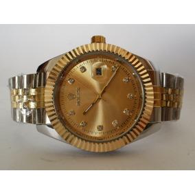 Elegante Reloj Rolex Presidente,cuarzo,fechador,envio Gratis
