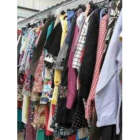 Lote Com 60 Peças De Roupas Femininas Para Bazar