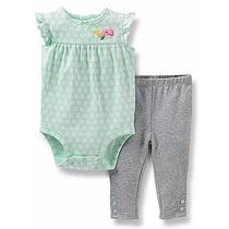 Conjunto 2 Peças Calça Legging Shorts Body Carters - Menina