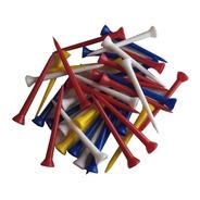 100 Tees Largos 7 Cm Plástico  |  The Golfer Shop