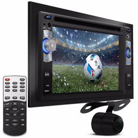 Central Multimídia 2din Dvd Tv Gps Usb Sd + Câmera De Ré