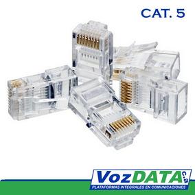 Conector Rj45 Categoria 5
