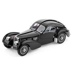 Coches De Modelo Clásico Bugatti 57 Sc, Atlantic 1937, Black