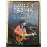 Joaquín Sabina | Dvd En Concierto Desde Gran Rex Impecable