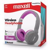 Maxell Mxh Bt800 Auriculares Bluetooth Gtia Cbtelefonia