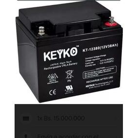 Baterias 12v 38ah Keyko Agm Para Ups Silla Carro Power House