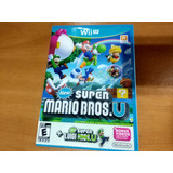 New Super Mario Bros U + New Super Luigi U - Wii U