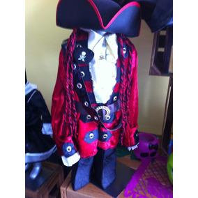 Disfraz De Pirata Estilo Jack Sparrow Para Halloween.