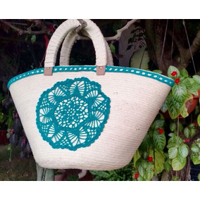 Bolsas Artesanales Con Tejido Crochet