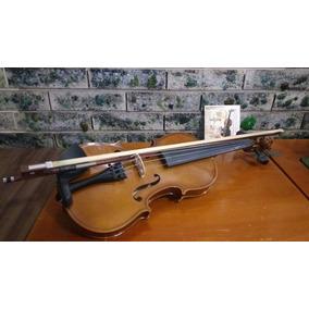 Violino Infantil 1/2 3/4 Espaleira Estojo Arco Dominante