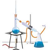Equipo Kit De Destilacion Simple Completo Capacidad 1000 Ml