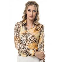 Camisa Social Estilosa Feminina Principessa Adriele