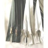 Cierres Separables De Polyester Y Aluminio De 40 Cm