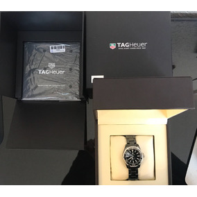 Reloj Dama Tag Heuer Aquaracer Ceramica Y Diamantes