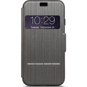 Funda Iphone 7 Iphone 8 Moshi Sensecover Gris Obscuro