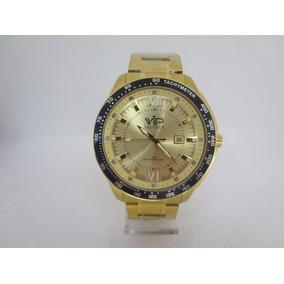 e99fa24e6c3 Relógio Vip Masculino Dourado - Relógio Masculino no Mercado Livre ...